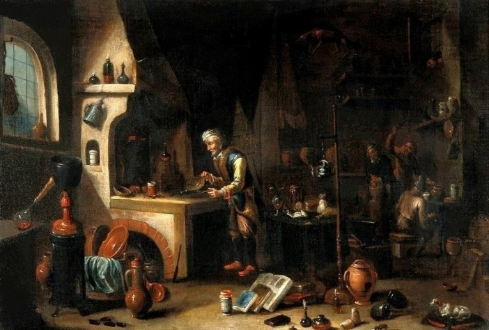 L'Alchimiste sous le regard des peintres 16020804433719075513958221