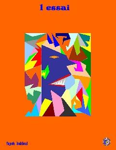 dessin fantaisiste - 1 essai
