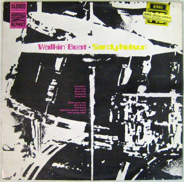 NELSON SANDY - Walkin' Beat - LP