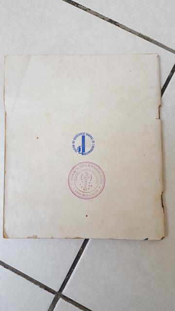 Identification d'un tampon et estimation d'un livre PETAIN 16021201485811912013968183