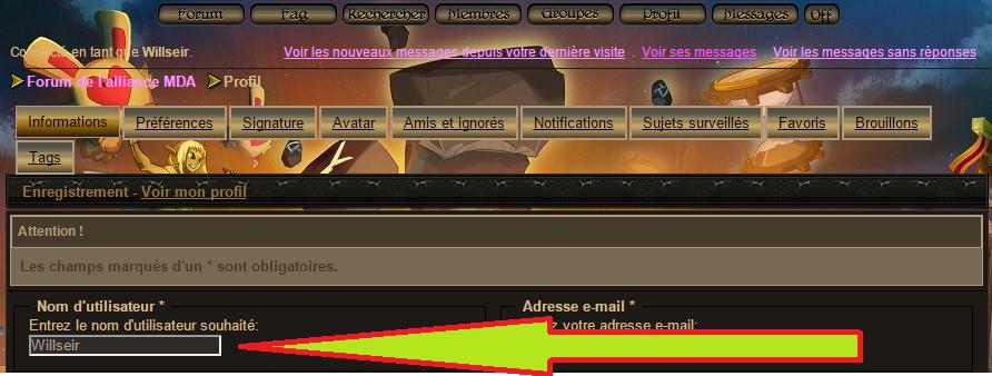Tuto : Changer de pseudo sur le forum 1602120602494313413968803
