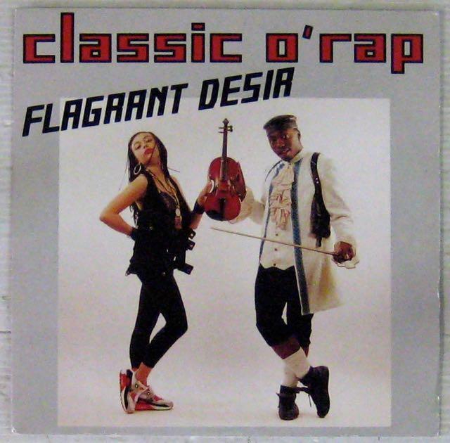 CLASSIC O'RAP - Flagrant désir - 7inch (SP)