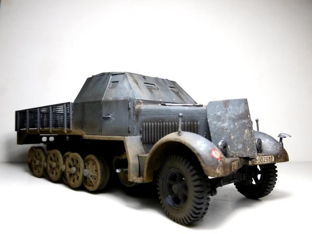 Sd.Kfz. 8 ton Flak 3.7cm [ TAMIYA 1/35° ] (Montage et Peinture en cours] - Page 2 16021901271721038613987269