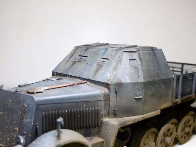 Sd.Kfz. 8 ton Flak 3.7cm [ TAMIYA 1/35° ] (Montage et Peinture en cours] - Page 2 16021901274321038613987272