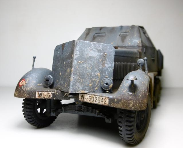 Sd.Kfz. 8 ton Flak 3.7cm [ TAMIYA 1/35° ] (Montage et Peinture en cours] - Page 2 16021901280721038613987276