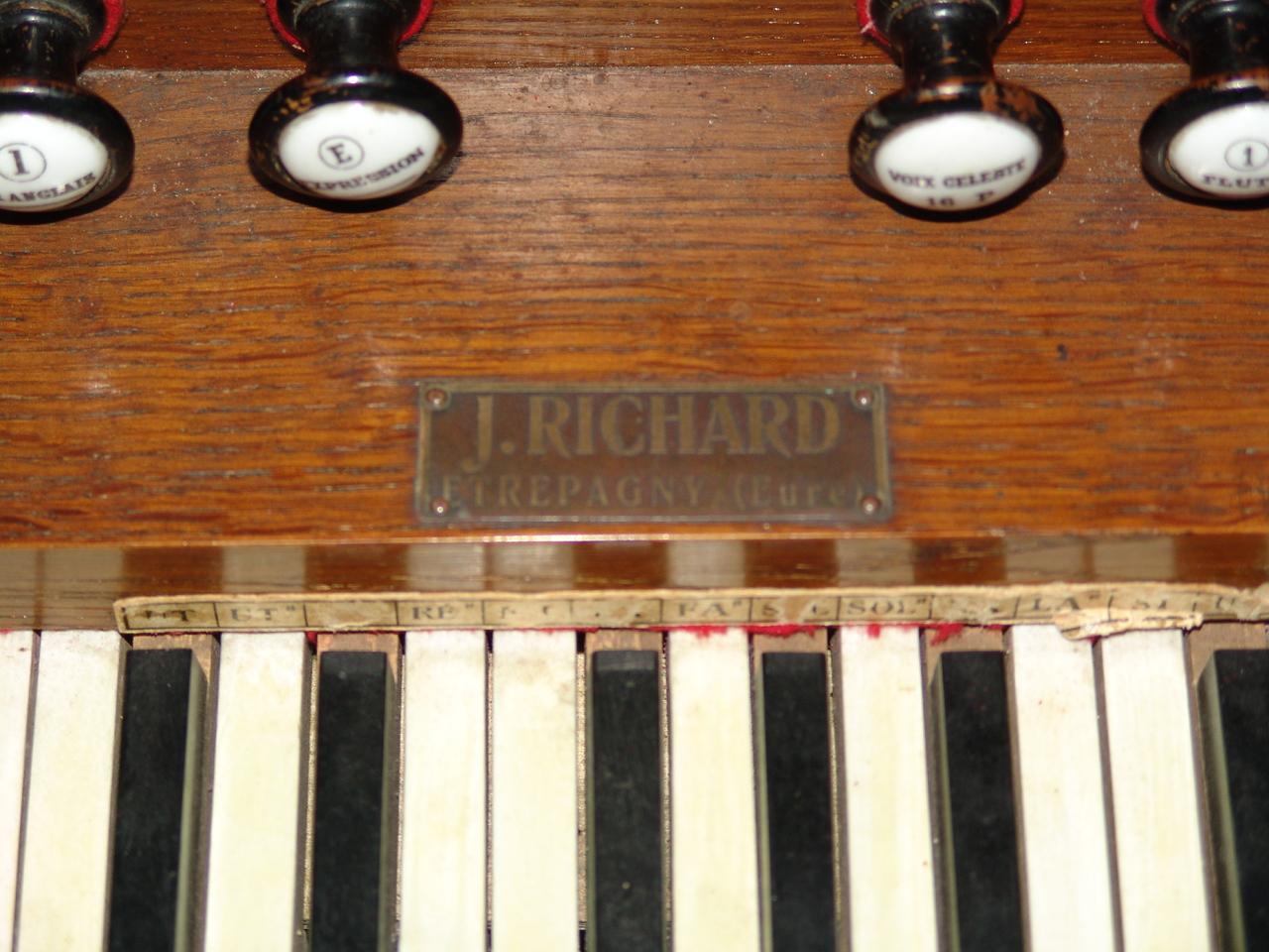 Mon premier harmonium un J-RICHARD 16021908283721182813988398