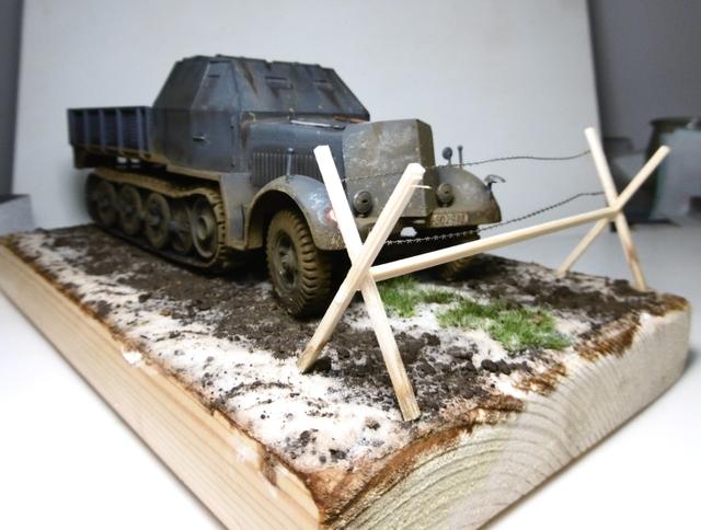 Sd.Kfz. 8 ton Flak 3.7cm [ TAMIYA 1/35° ] (Montage et Peinture en cours] - Page 2 16022109114421038613991643