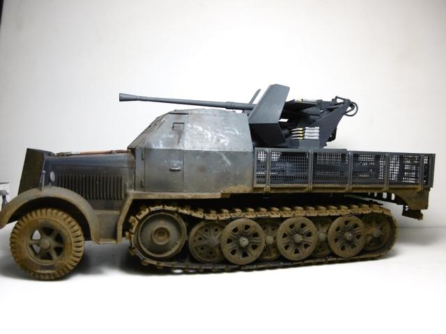 Sd.Kfz. 8 ton Flak 3.7cm [ TAMIYA 1/35° ] (Montage et Peinture en cours] - Page 2 16022310152421038613997771