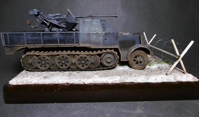 SD.KFZ. 8ton Flak 3.7cm Semi-chenillé 1/35 [ Tamiya ] 16022508500921038614007640