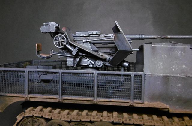 SD.KFZ. 8ton Flak 3.7cm Semi-chenillé 1/35 [ Tamiya ] 16022508501121038614007641