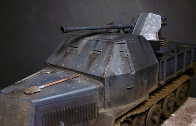 SD.KFZ. 8ton Flak 3.7cm Semi-chenillé 1/35 [ Tamiya ] 16022508501921038614007644