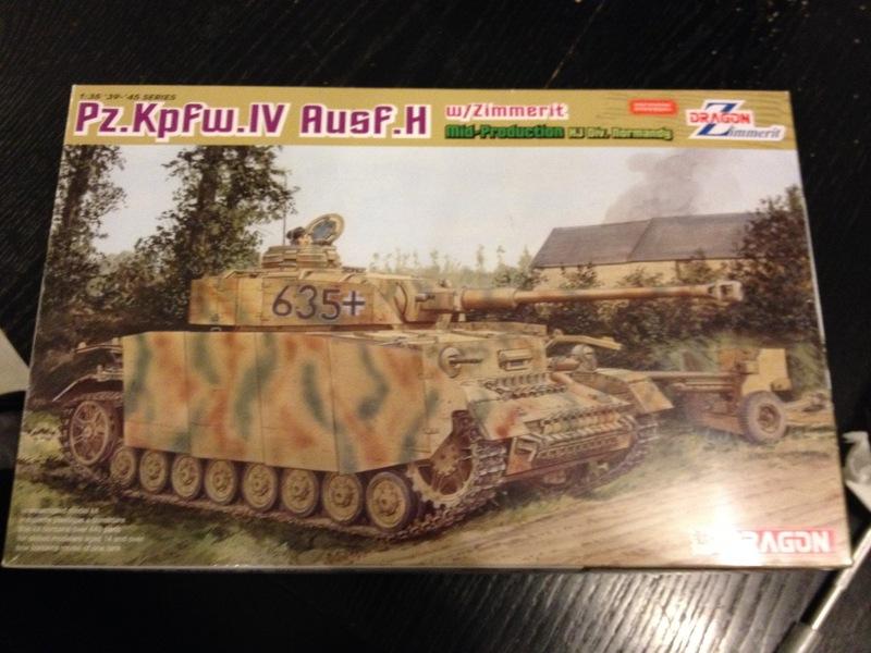 Panzer IV Ausf H Dragon 1/35 16031707561121232414066744