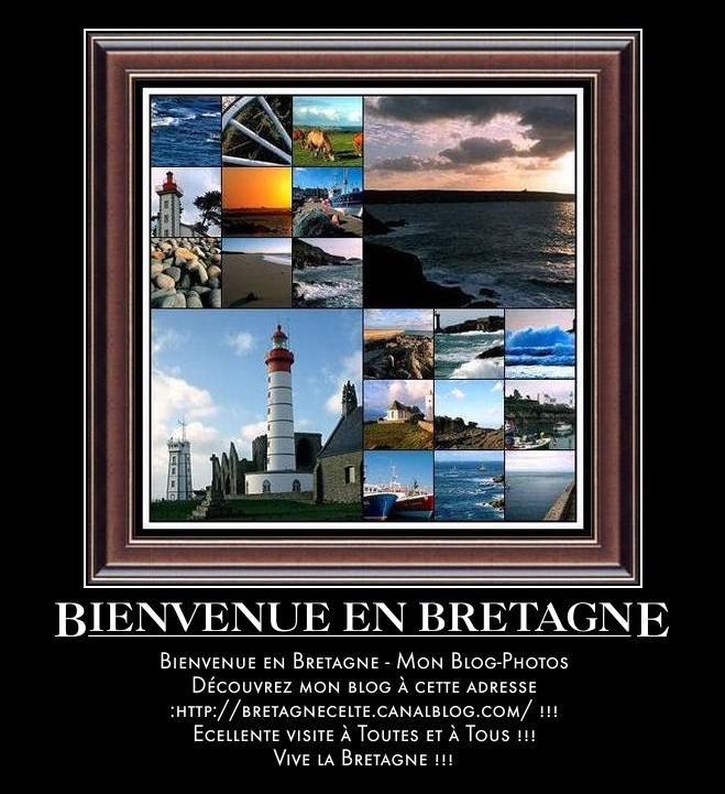 Bienvenue en Bretagne - Mon Blog-Photos...