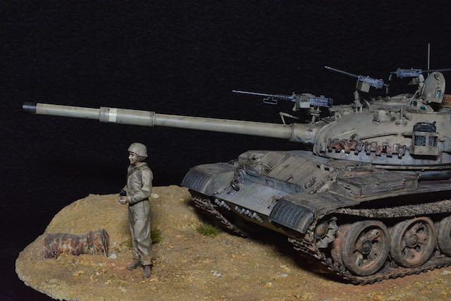 TIRAN 6 - Patrouille dans le Sinai - fin des années 1970 - diorama 1/35 16032804194512278514103247