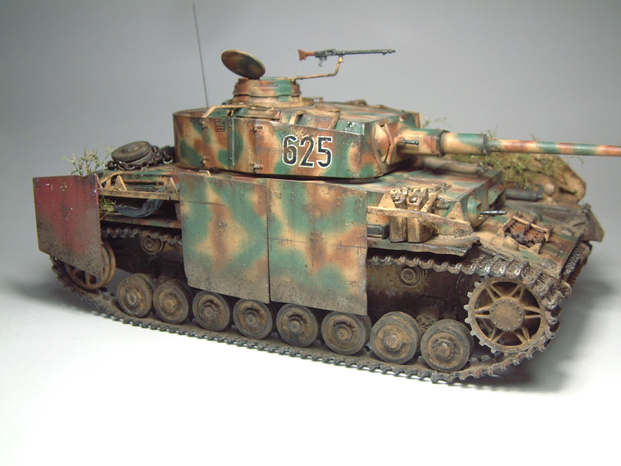 Panzer IV Ausf.H - 1/35e - [Italeri] 1603280815434769014103907