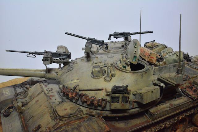TIRAN 6 - Patrouille dans le Sinai - fin des années 1970 - diorama 1/35 16033001084812278514107927