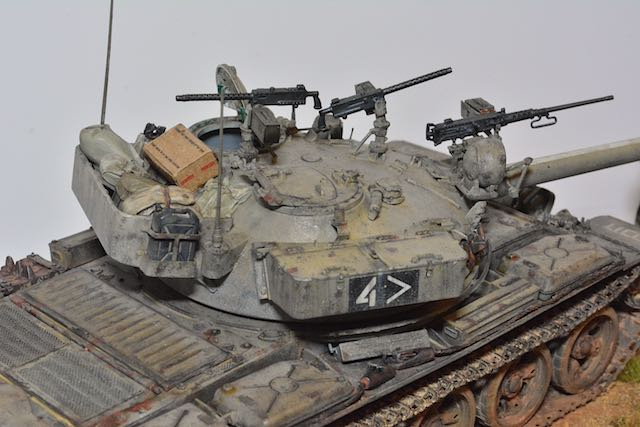 TIRAN 6 - Patrouille dans le Sinai - fin des années 1970 - diorama 1/35 16033001085312278514107932