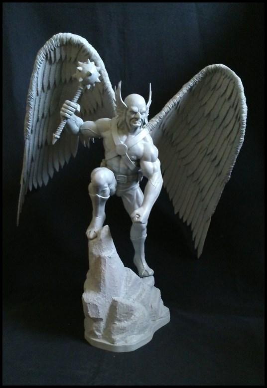 Hawkman statue 1/4 16040910210116083614132196