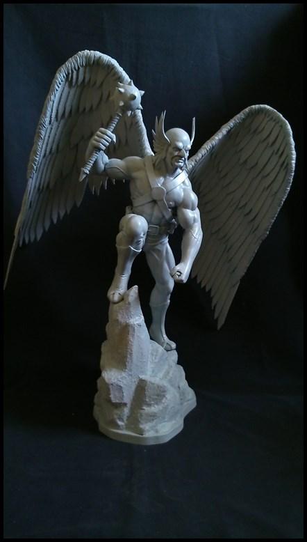 Hawkman statue 1/4 16040910210316083614132197