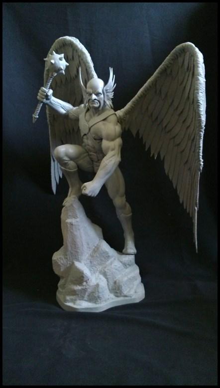 Hawkman statue 1/4 16040910210416083614132198