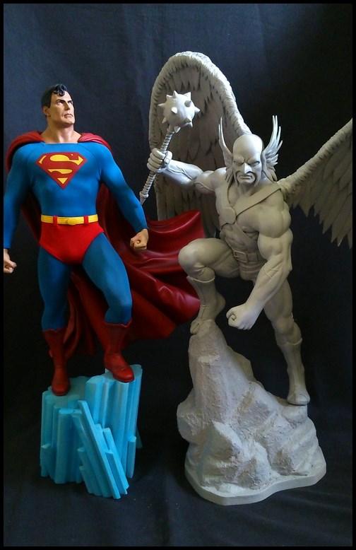 Hawkman statue 1/4 16040910211116083614132204