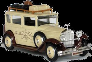Rolls-Royce 20/25 Eligor Taxi d'hôtel Burlington Arcade
