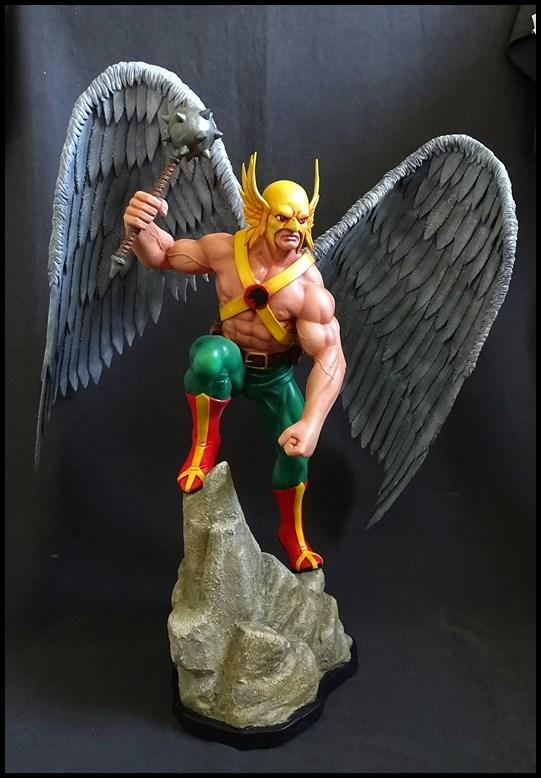 Hawkman statue 1/4 16041307573316083614143434