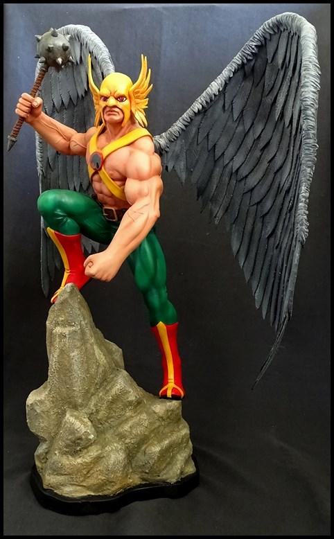 Hawkman statue 1/4 16041307573816083614143436