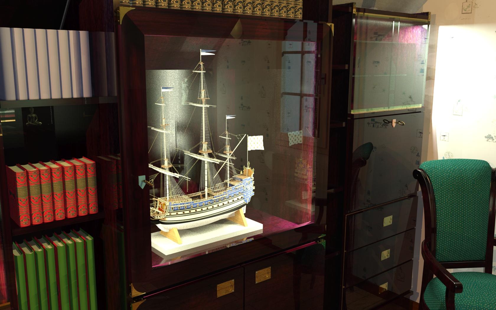 Encore un Titanic en construction 1/400 de chez Academy 16041601160418121214149509