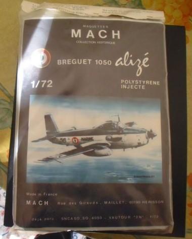 Un avion connu ,une marque de maquettes disparue ,MACH  1604180941267952914160960
