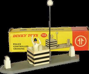 Contrôle de police au carrefour Dinky-Toys