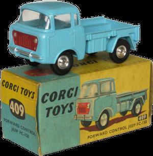 Jeep FC150 Corgi-Toys