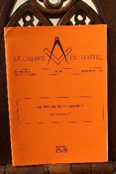Album FRANC-MAçONNERIE INSTRUCTION du MAITRE : LE MAITRE ET LE DISCIPLE
