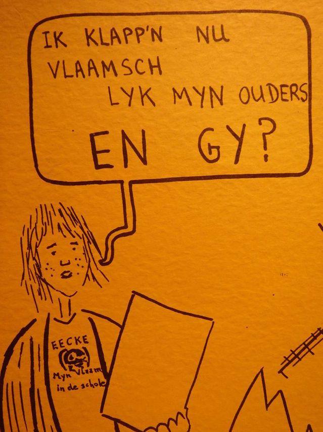 de geschiedenis van de taalproblematiek van Frans-Vlaanderen 16042301265021508714173851