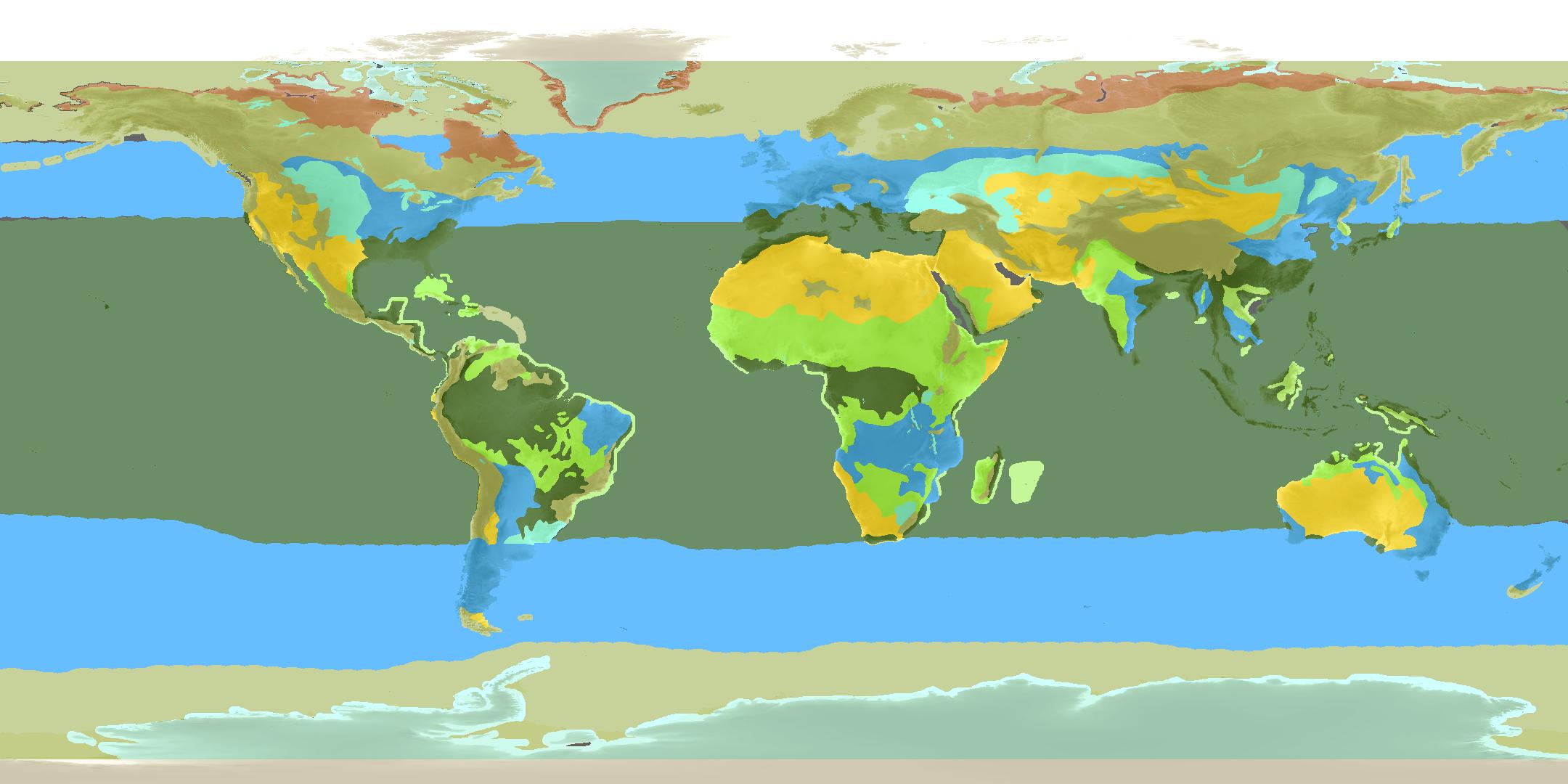 Terrain Zones simplifiées avec Terrain