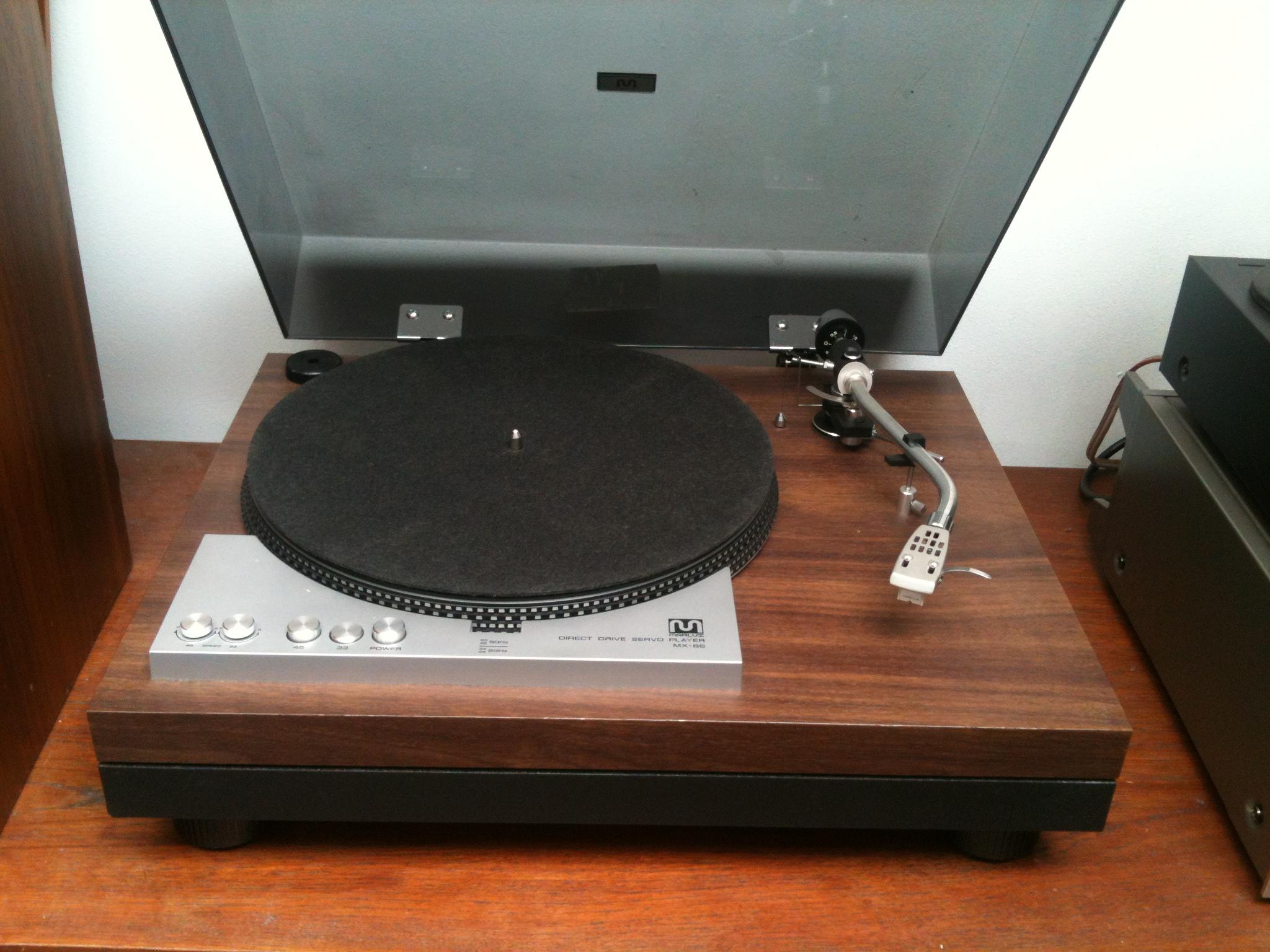 Rare platine vinyles marlux mx 86 audiophile vintage direct drive turntable - Platines vinyles vintage ...