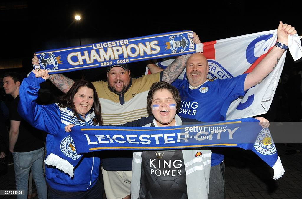 Fans Leicester