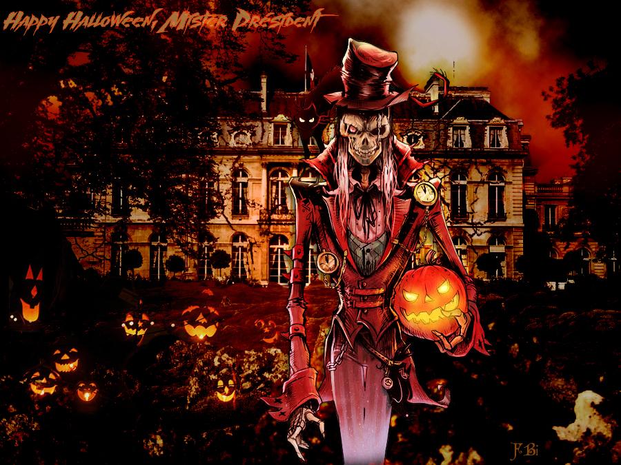 Halloween présidentiel