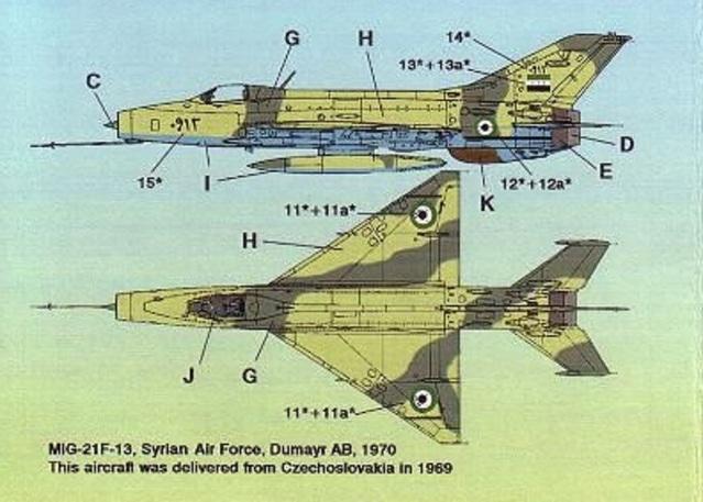 MiG-21 F-13 (Trumpeter 1/48) 16051010313210194414215829