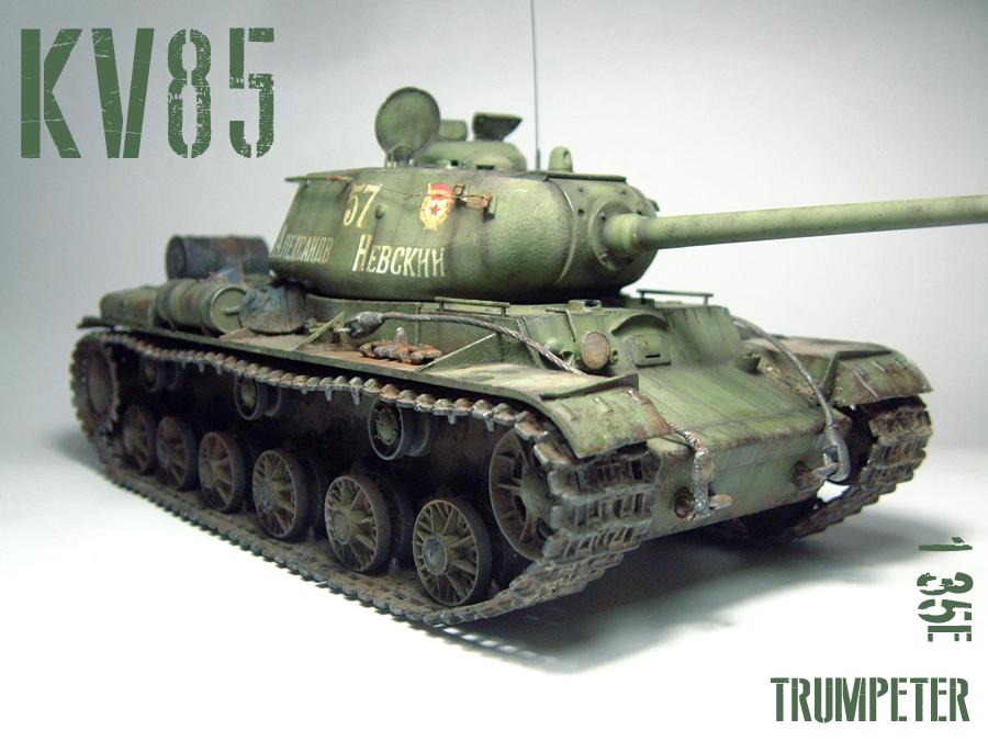 KV-85 - 1/35e - [Trumpeter] 1605121205444769014221286