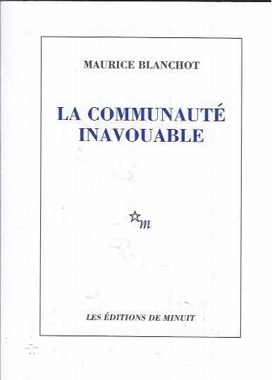 Maurice Blanchot - La communaute inavouable
