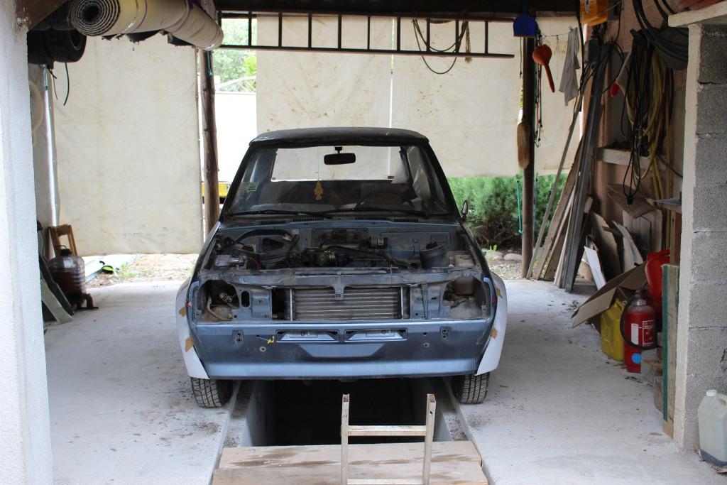 Fiesta MK1 Blacktop 2L. 16060104501212905814274499