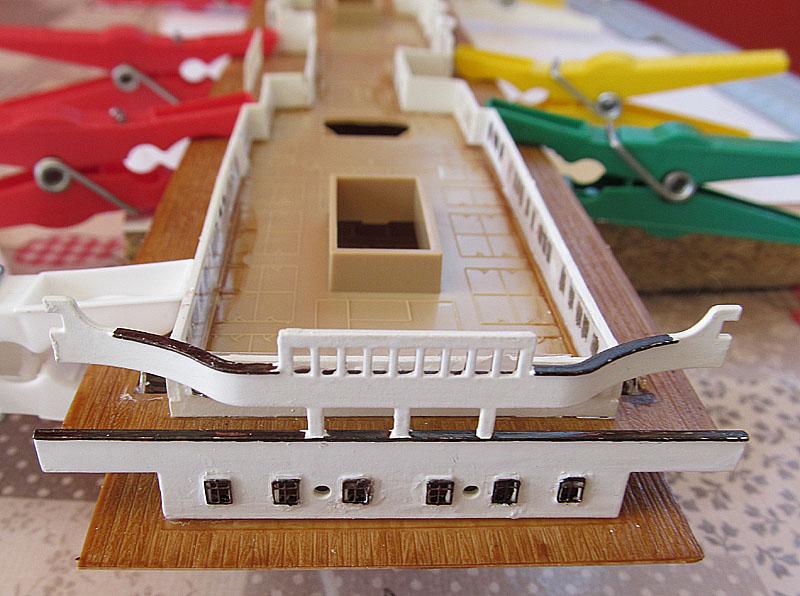 Encore un Titanic en construction 1/400 de chez Academy - Page 2 16060402524218121214281933