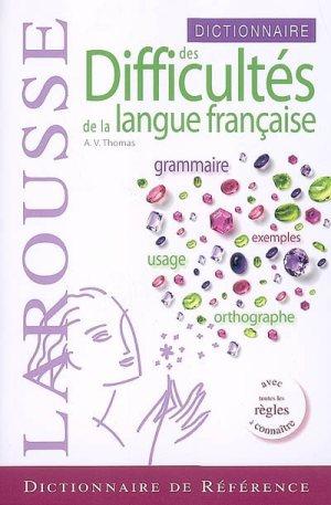 Thomas A.V. - Dictionnaire des difficulltes de la langue francaise