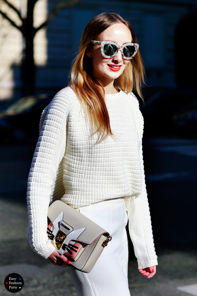 Ivory Sweater Look - PFW 2015-2016