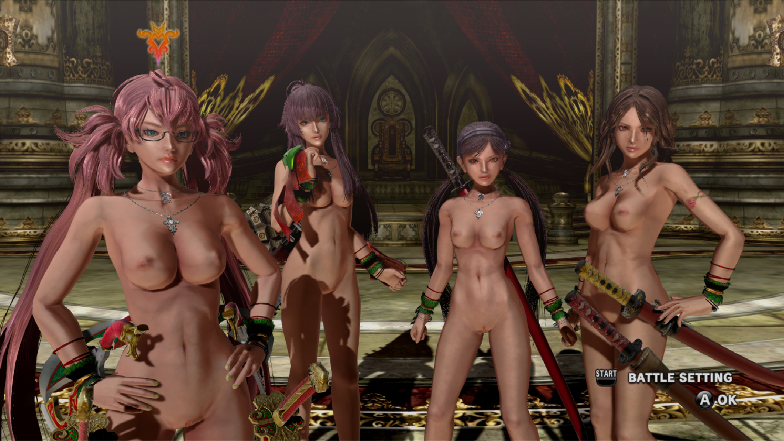Hottest video game girls nude fucking film