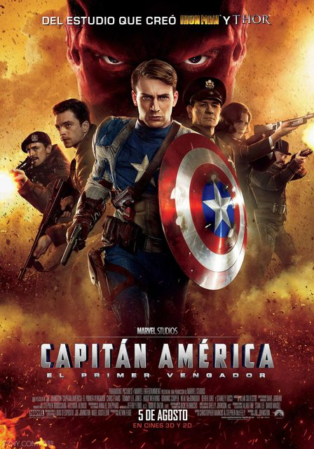 美國隊長 Captain America The First Avenger