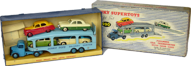 Dinky Supertoys Giftset Pullmore car Transporter 990