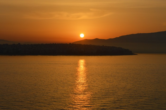 Lever de soleil sur Athènes 16061103122917181814300252