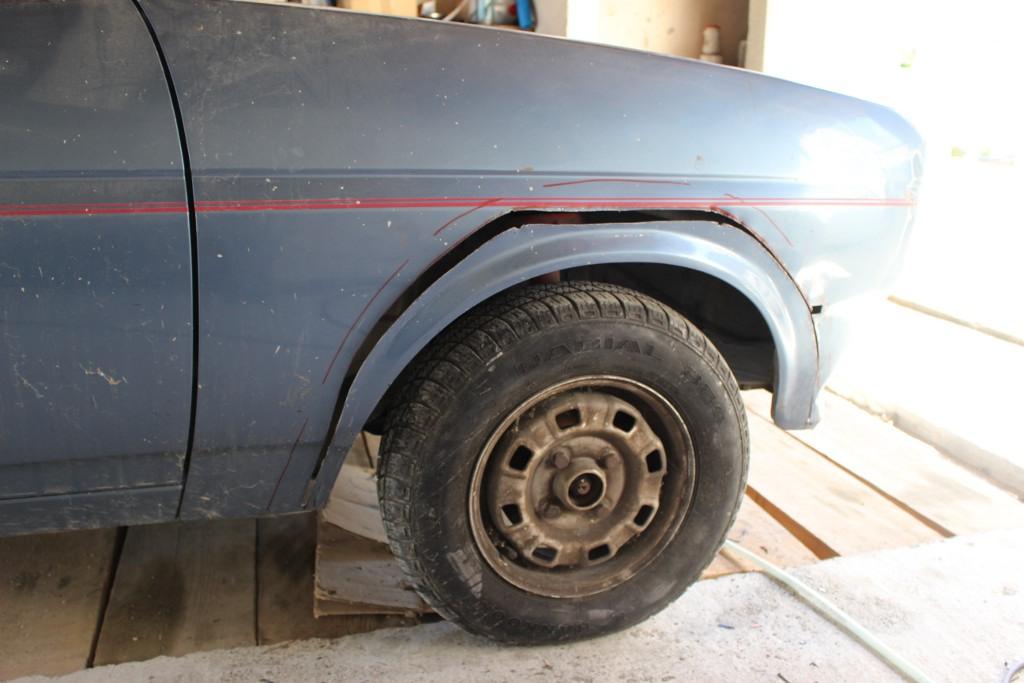 Fiesta MK1 Blacktop 2L. 16062205064212905814327824